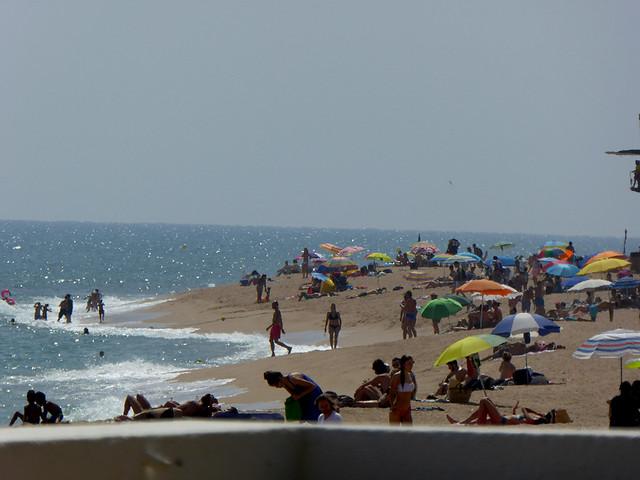 Beaches on the Costa Brava are always popular
