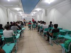 Reunião com os discentes atletas que participarão dos Jogos Universitários Brasileiros - JUBS 2018
