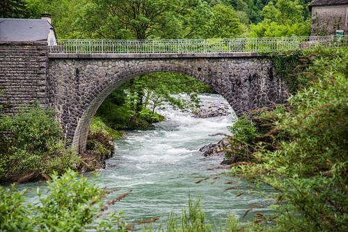 39-Pont sur la gave d'Aspe