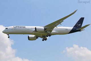 F-WZND Airbus A350 Lufthansa