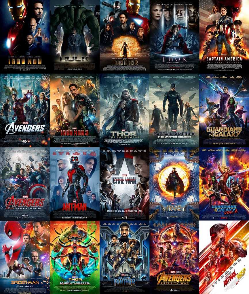 Every Marvel Cinematic Universe Poster!