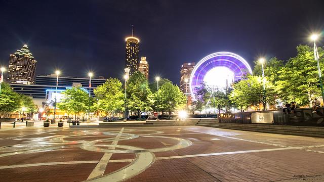 Fountain of Rings in Centennial Olympic Park - Atlanta (Georgia)