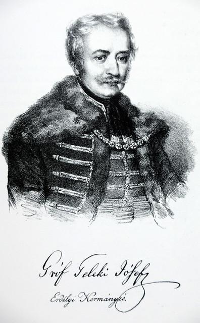 Teleki József (Pest, 1790. október 24. – Pest, 1855. február 15.) magyar történetíró, jogász, Erdély kormányzója, az Akadémiai Könyvtár alapítója, a Magyar Tudományos Akadémia társalapítója és első elnöke 1830-tól 1855-ig