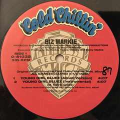 BIZ MARKIE:YOUNG GIRL BLUEZ(LABEL SIDE-A)