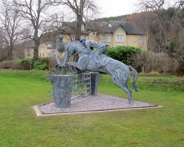 Horse Sculpture Peebles