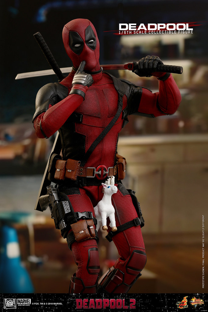 耍北爛沒有極限!! Hot Toys – MMS490 –《死侍2》死侍 Deadpool 1/6 比例人偶作品