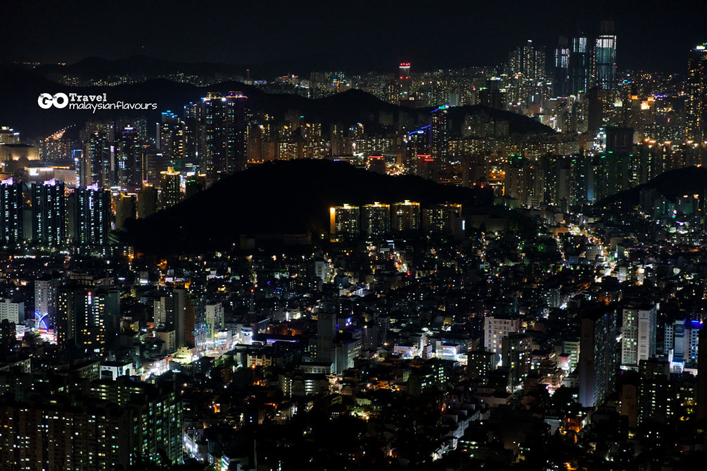 Hwangnyeongsan Mountain night view