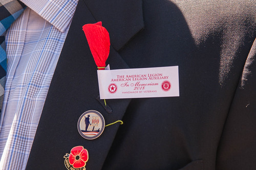 Red Poppy Memorial Garden Dedication