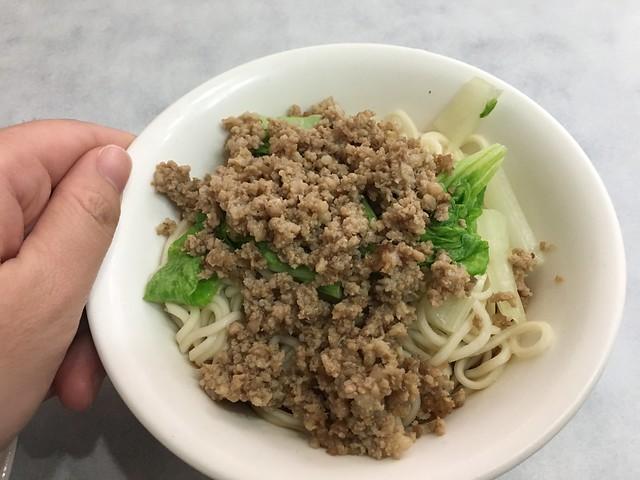 素椒炸醬麵(NTD$120)@新北永和南川麵館