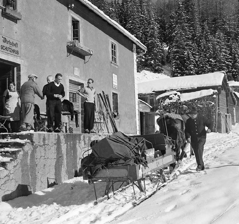 The postal service in Canton Valais - 1950 - Jack Birns - LIFE