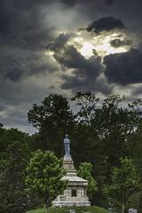 Confederate Cementery in Fredericksburg Virginia