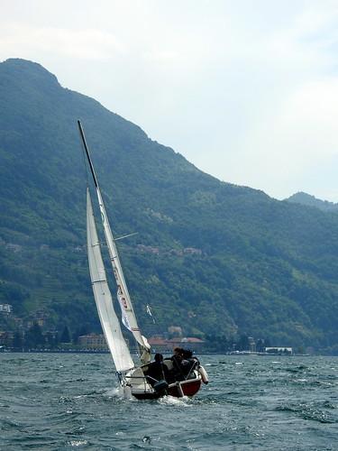 Dervio - Scuola di vela - Sul lago