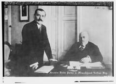 Ibraham Hakki Pascha with Min. Ahmed Nessimi Bey (LOC)