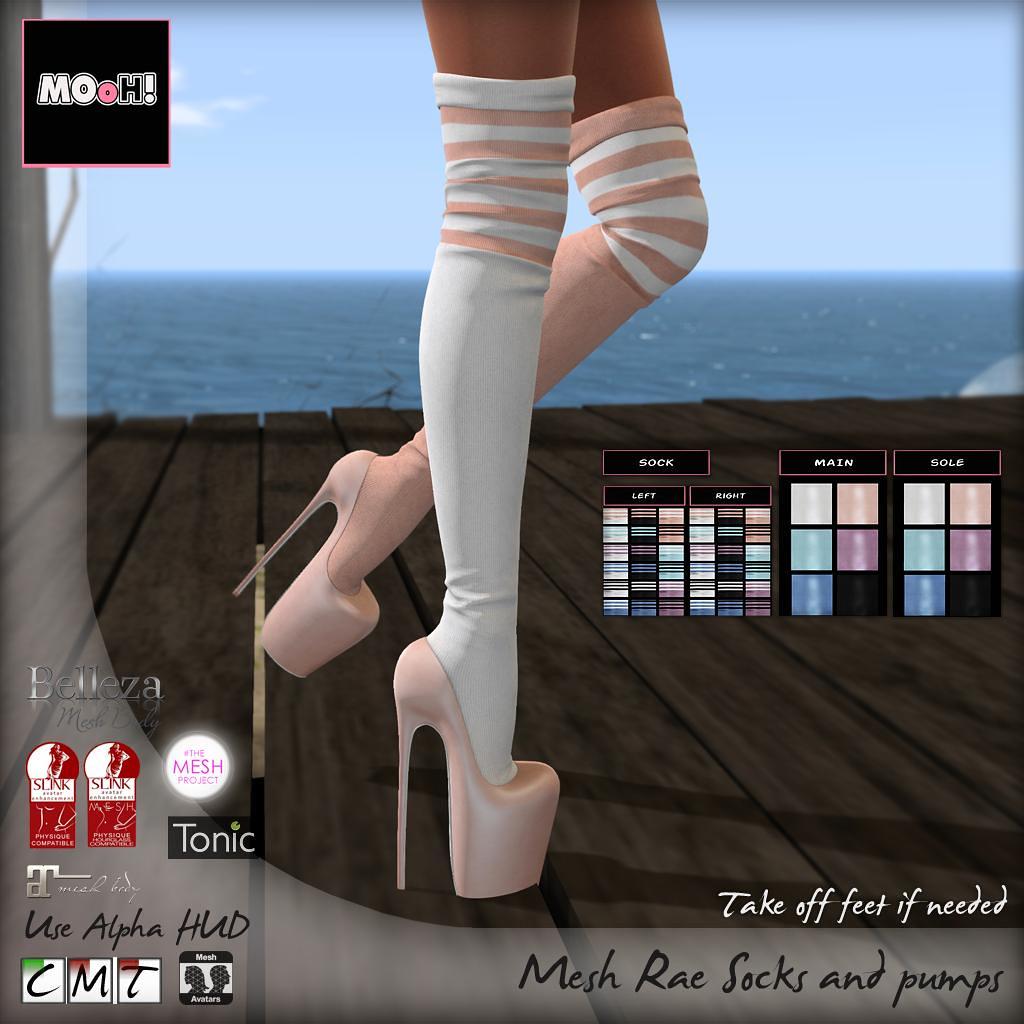 Rae socks and pumps - TeleportHub.com Live!