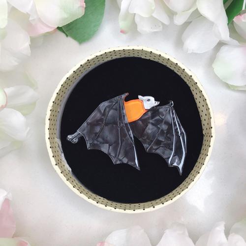 Erstwilder The Mega Bat Brooch