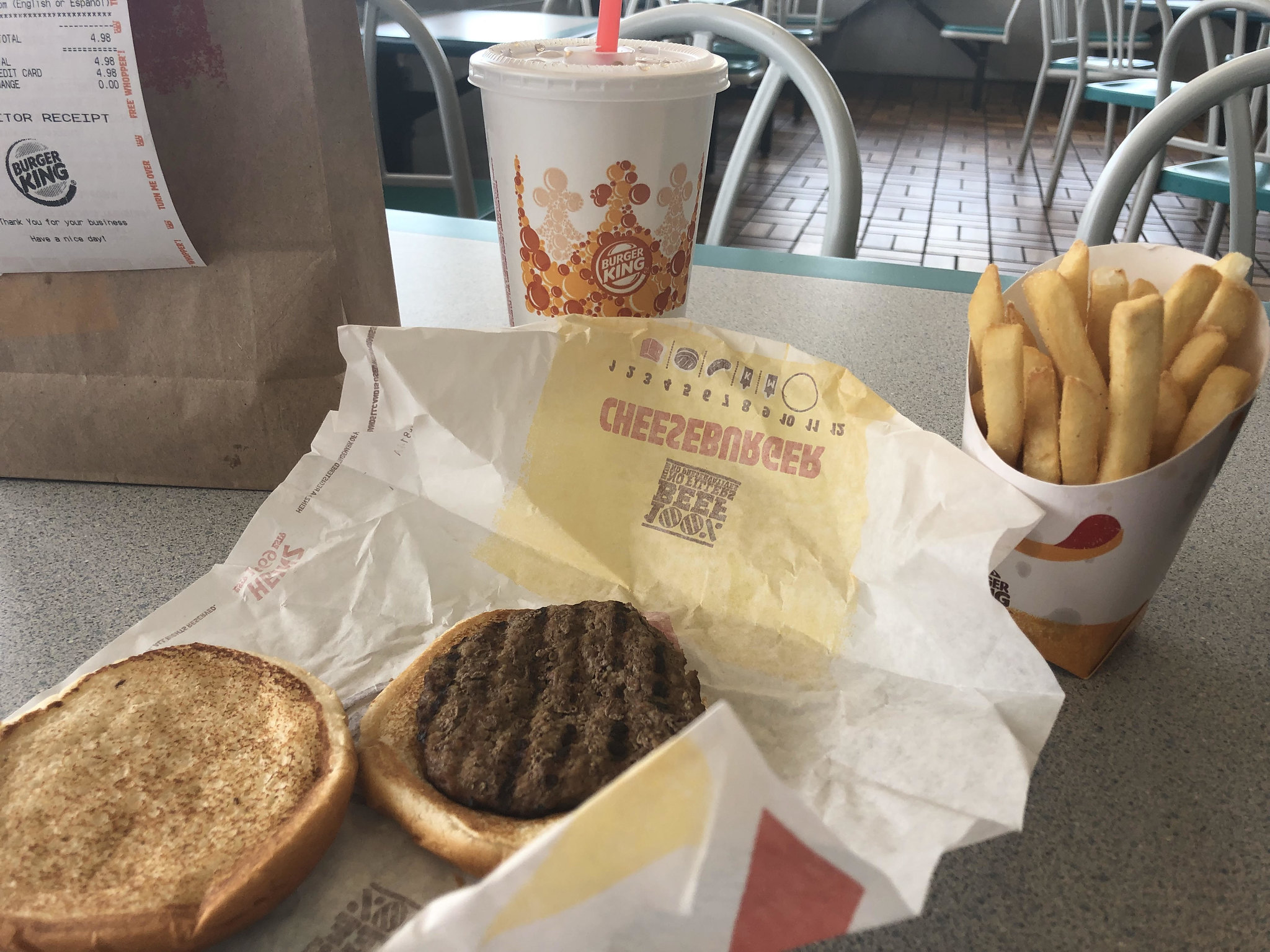 """Thin and juiceless"": Burger King lets you have it your way"