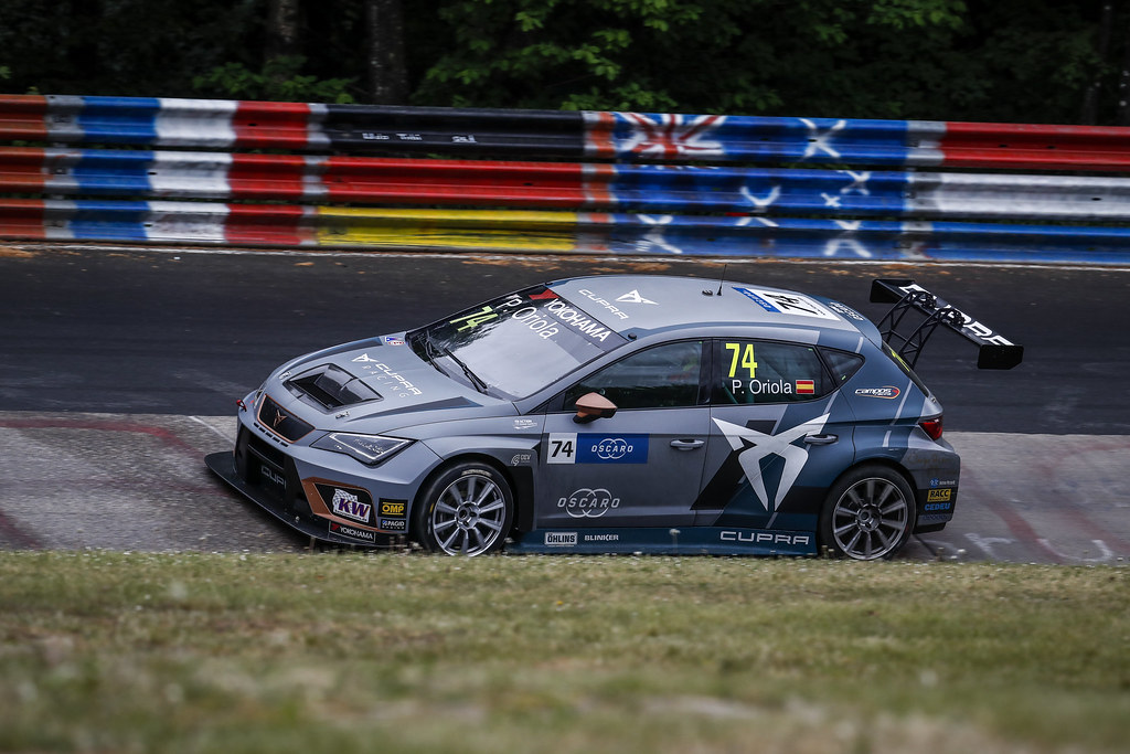 74 ORIOLA Pepe (ESP), Team Oscaro by Campos Racing, Cupra TCR, action during the 2018 FIA WTCR World Touring Car cup of Nurburgring, Germany from May 10 to 12 - Photo Clement Marin / DPPI