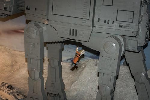 Luke Skywalker AT-AT