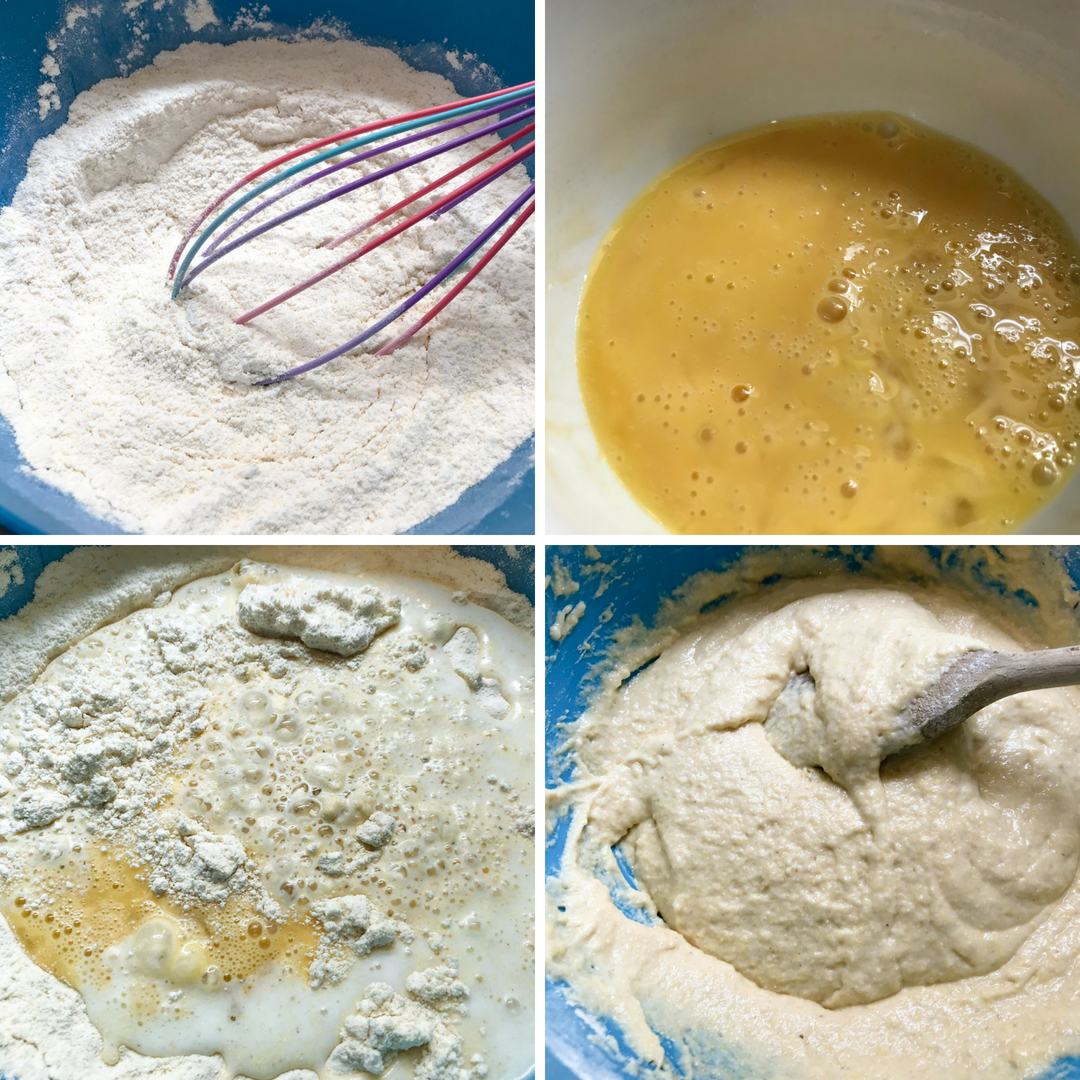making Pan Bati