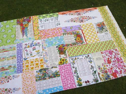 Tablecloth for the garden table