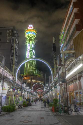 'Shinsekai' area, Osaka on 19-05-2018 (2)