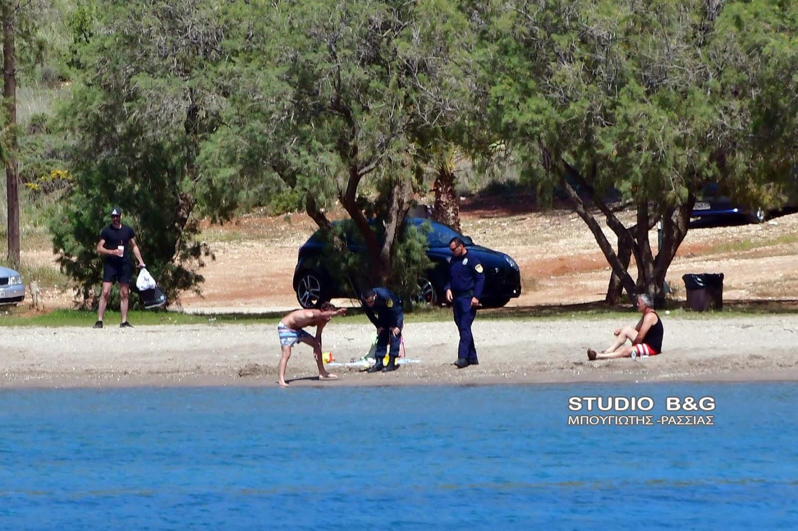Εμφάνιση περίεργου υλικού στην παραλία της Καραθώνας