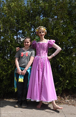 Hangin' with Rapunzel