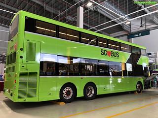 SG4003D (Volvo B8L) Rear Offside
