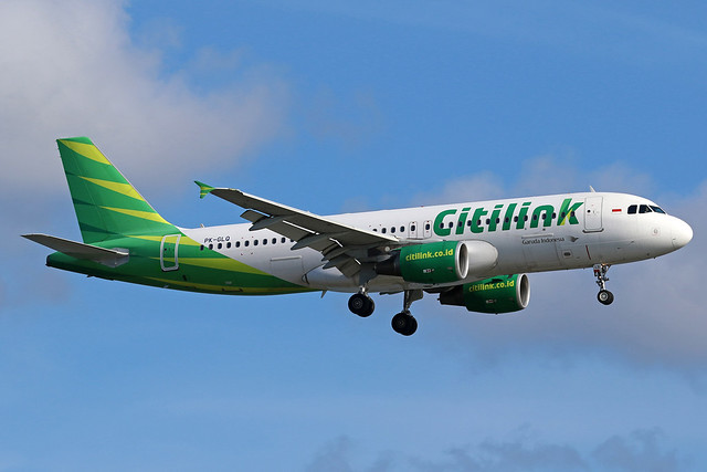 PK-GLQ Airbus A320-214 Citilink cn 5541