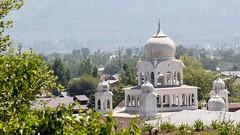 Gurdwara as seen from sufi shrine