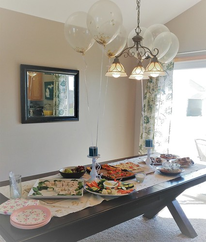 my sister in law and i recently hosted a bridal shower and between the two of us we were able to create a simple and elegant afternoon for the bride to be