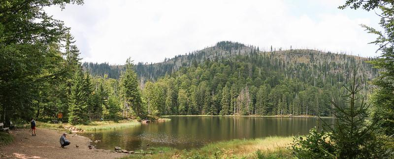 Bavorský les - Grosser Rachel