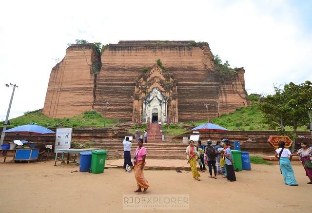 myanmar itinerary Mingun Pahtodawgyi