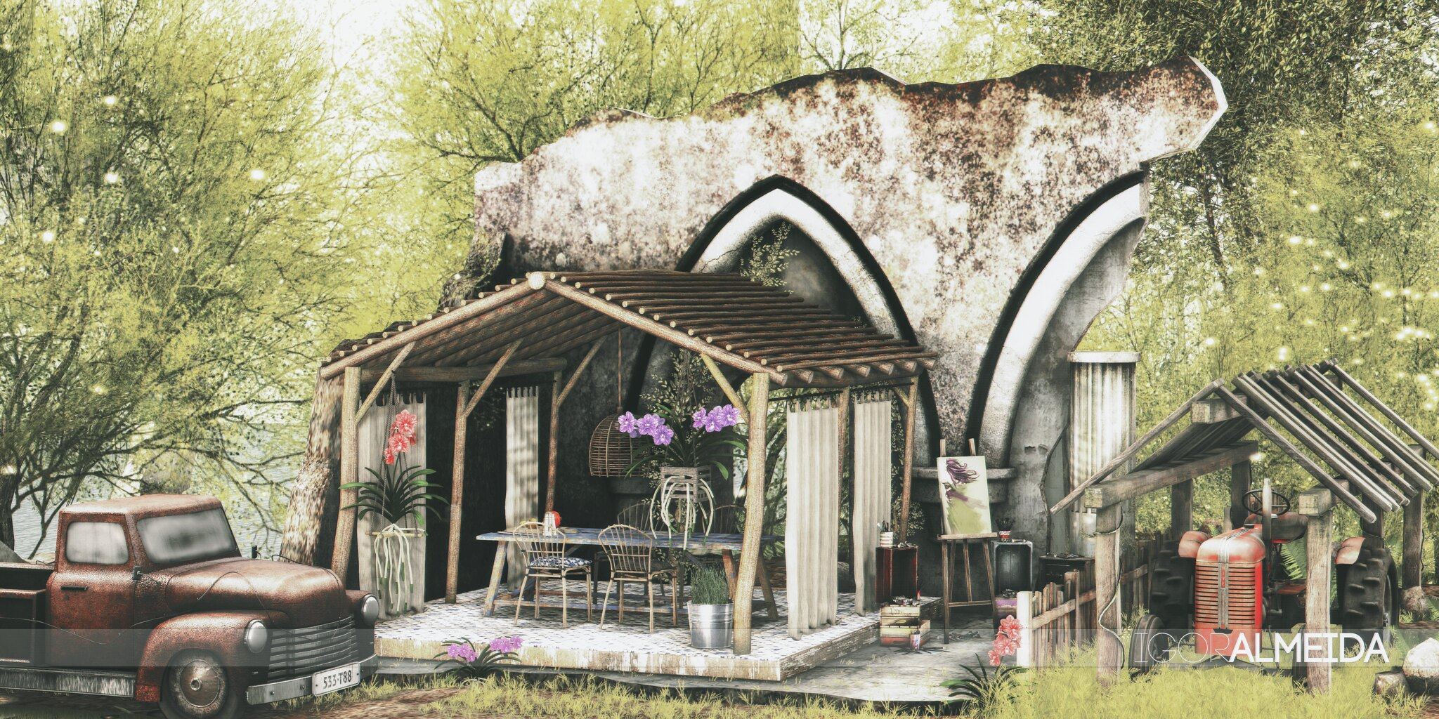 POST🔥 #1246 | Concept | Shiny Shabby | THOR | FaMESHed | DRD | Bad Unicorn | hive |