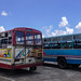 Bus station in Mahebourg, Mauritius by phuong.sg@gmail.com