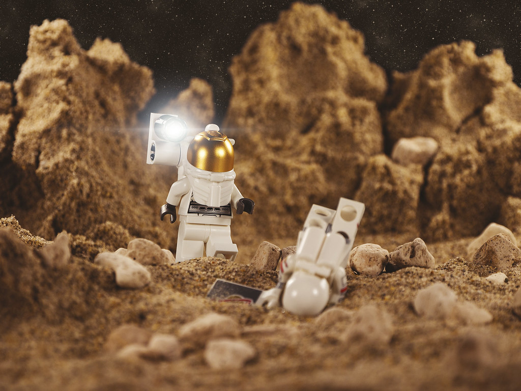 Astronaut in trouble