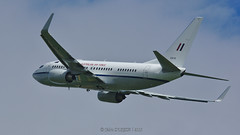 Boeing 737-7DT BBJ / Royal Australian Air Force / A36-001