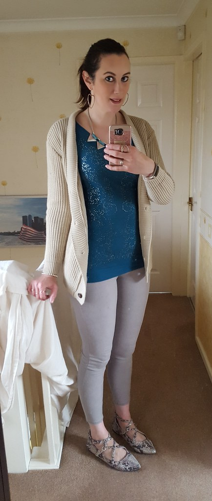c7d0b1c095 Top - New Look Tall (via eBay) Pants - Primark Shoes - TK Maxx Earrings -  Ziggy of Clevedon Necklace - Primark (via charity shop)