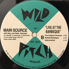 MAIN SOURCE:JUST HANGIN OUT(LABEL SIDE-B)