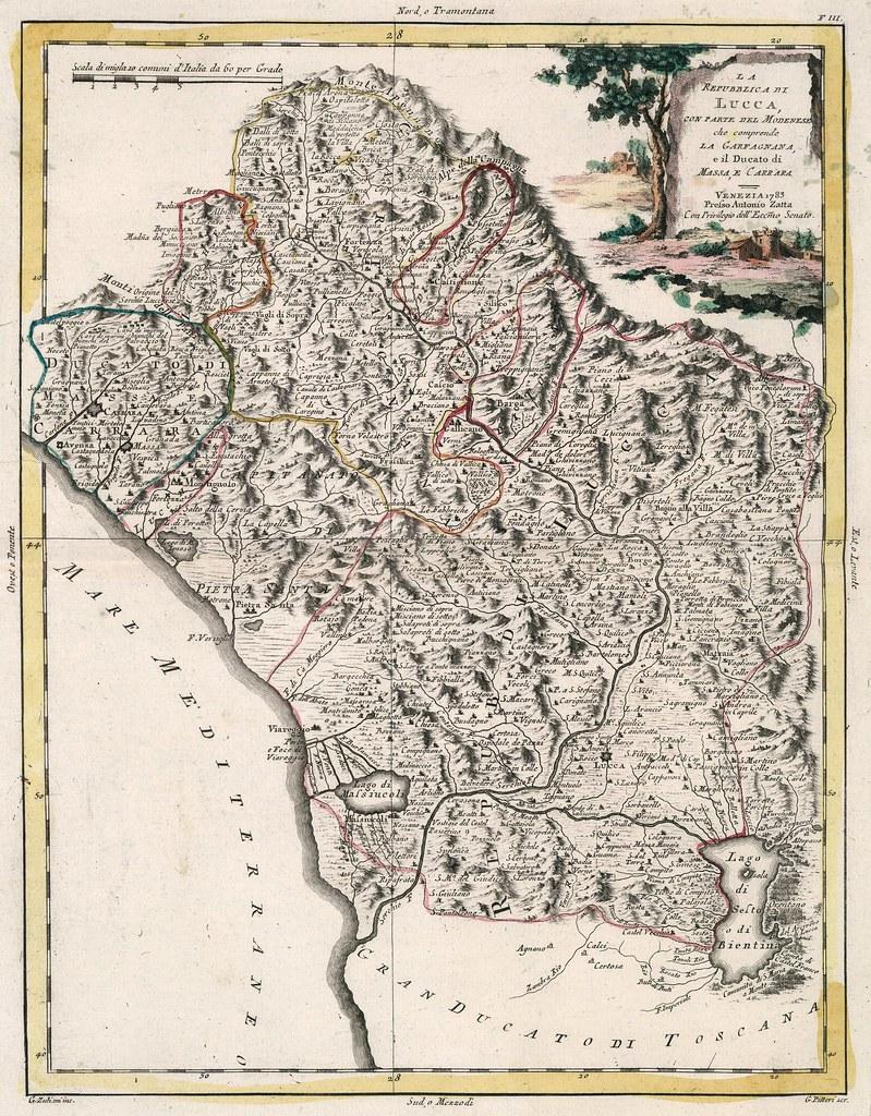 Antonio Zatta - La Repubblica di Lucca (1783)