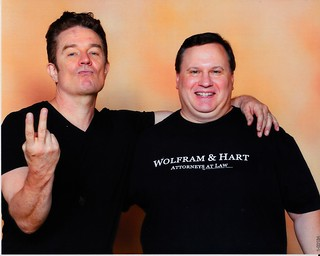 actor James Marsters (Buffy and Angel) and David 8-26-17