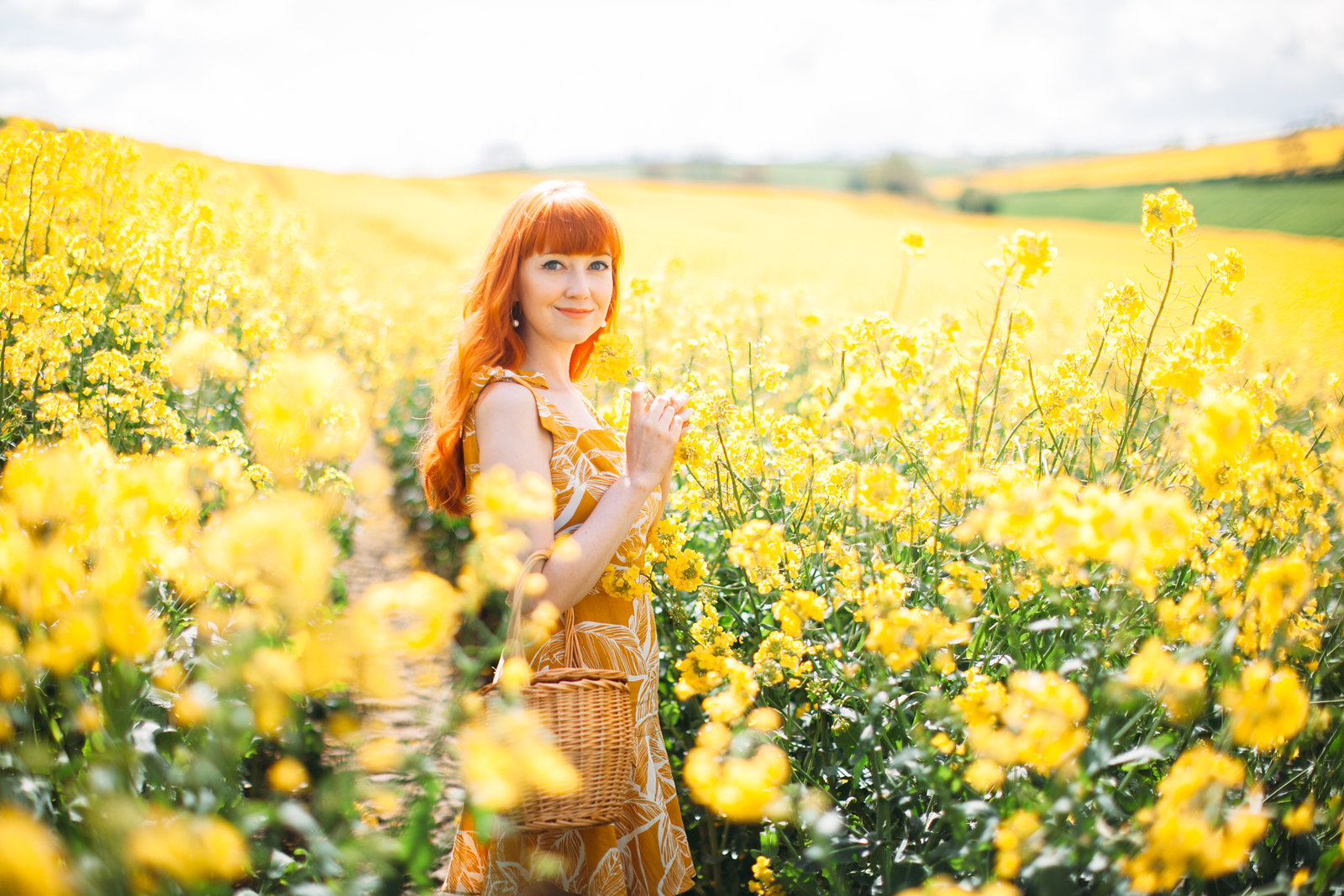 yellow dress field-4