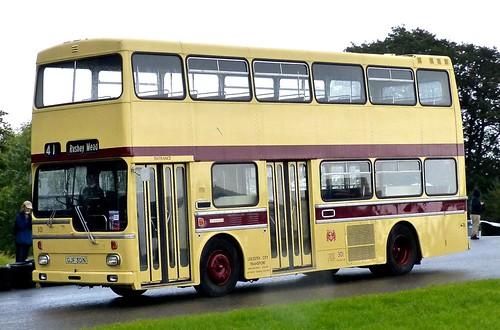 GJF 301N 'Leicester City Transport No. 301 Scania BR111DH / MCW Metropolitan on Dennis Basford's railsroadsrunways.blogspot.co.uk'