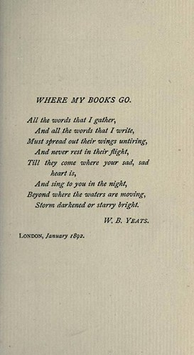 Where my books go #yeats #booksandbrunch