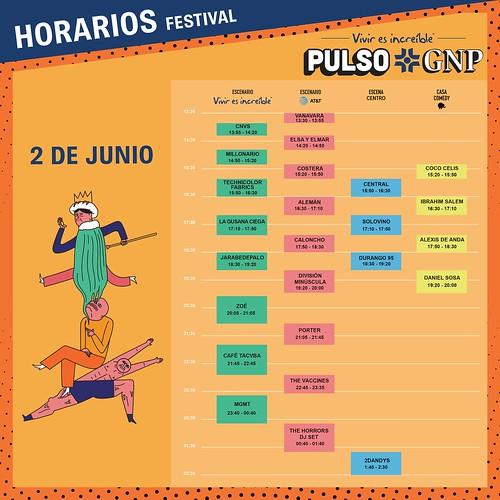 Pulso GNP Horarios