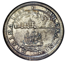 1683 Dutch West India Company Betts Medal obverse