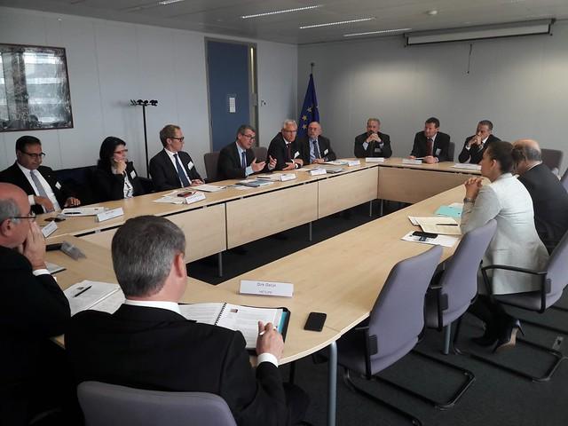 Meeting with Commissioner Moscovici