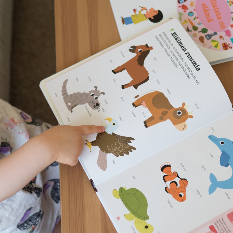 Tällaisia ovat eläimet kirja 3