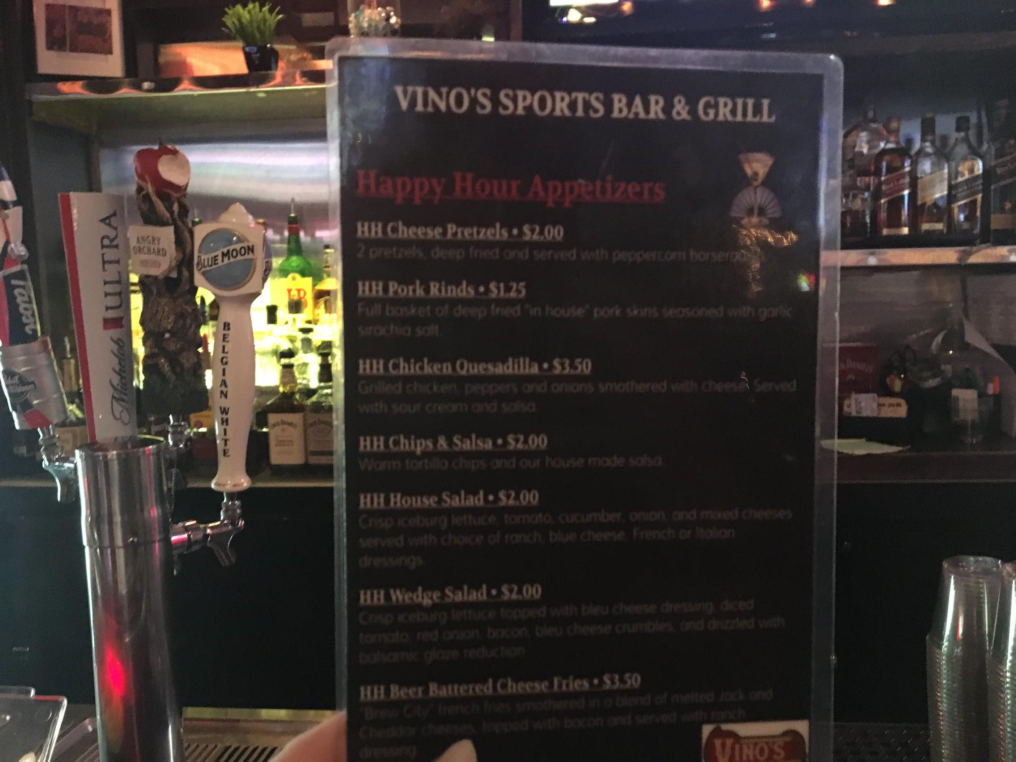 vinos bar and grill charleston wv