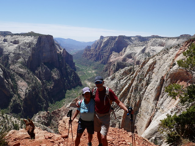 Donna and Lars, Zion National Park